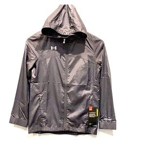 NEW Under Armour Kid's Water Resistant Jacket